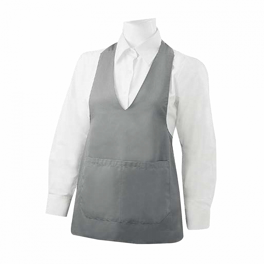 APRON CLEANING WITH POCKET 65mm*70mm WORK UNIFORM CLINIC HOSPITAL CLEANING VETERINARY SANITATION HOSTELRY Ref.8602