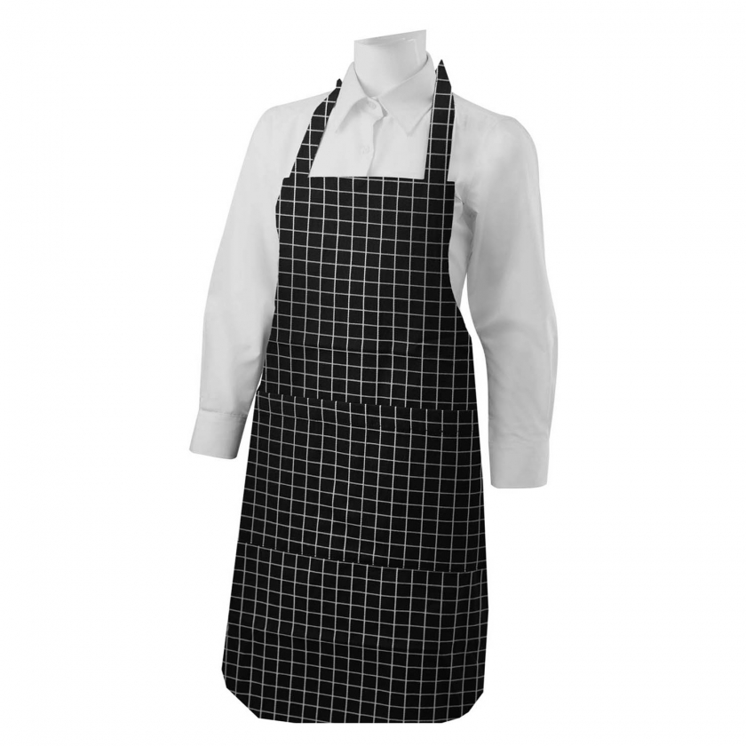 APRON CLEANING WITH POCKET 60mm*90mm WORK UNIFORM CLINIC HOSPITAL CLEANING VETERINARY SANITATION HOSTELRY - Ref.8603