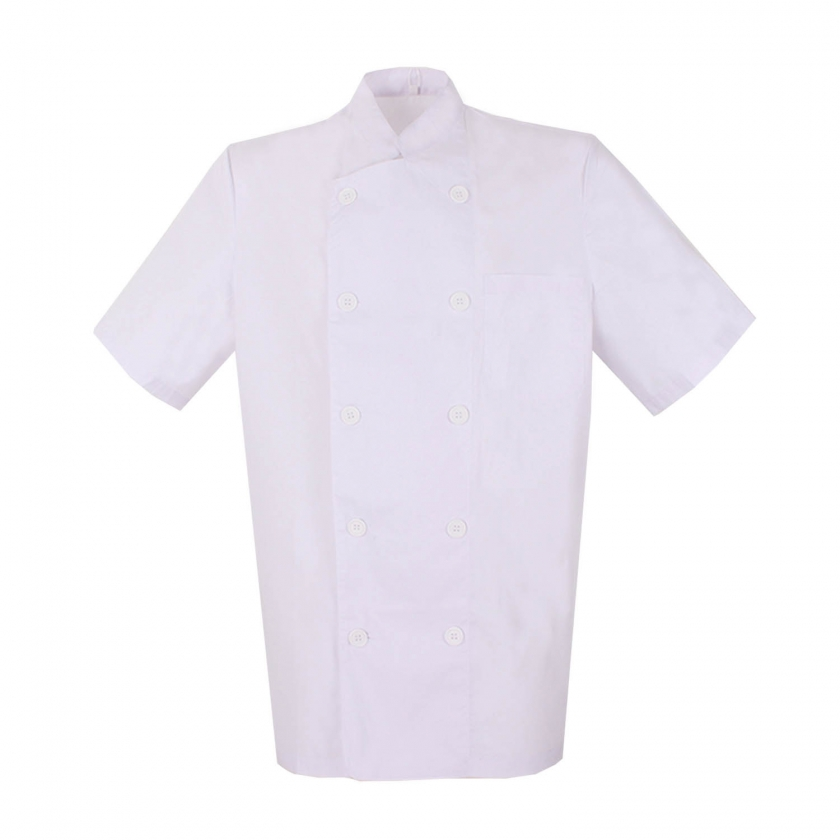 CHEF JACKETS MAN SHORT SLEEVES - Ref.8422 Misemiya Uniformes Cocina