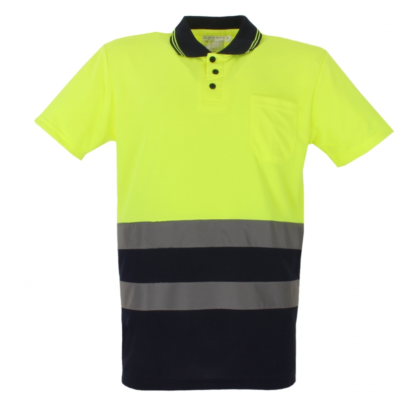 POLO ALTA VISIBILIDAD UNIFORME REFLECTANTES REF:003-17 Industrial