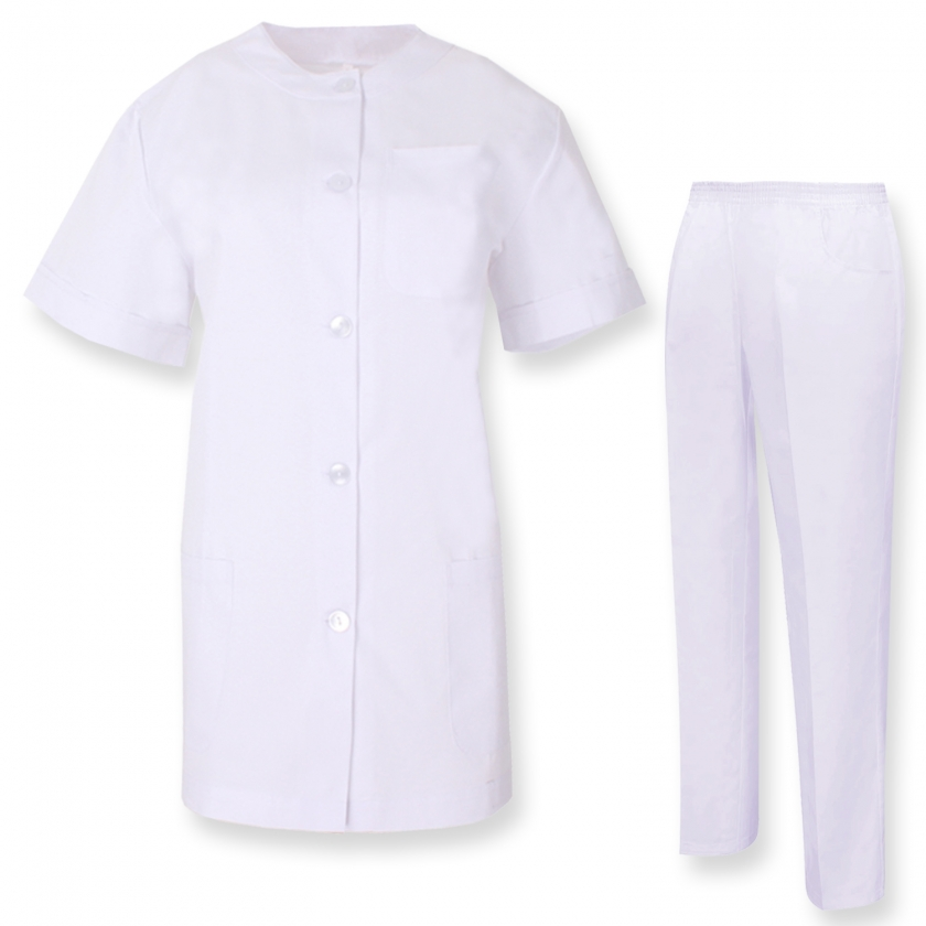 UNIFORMS Unisex Scrub Set Medical Uniform with Top and Pants - Ref.8318