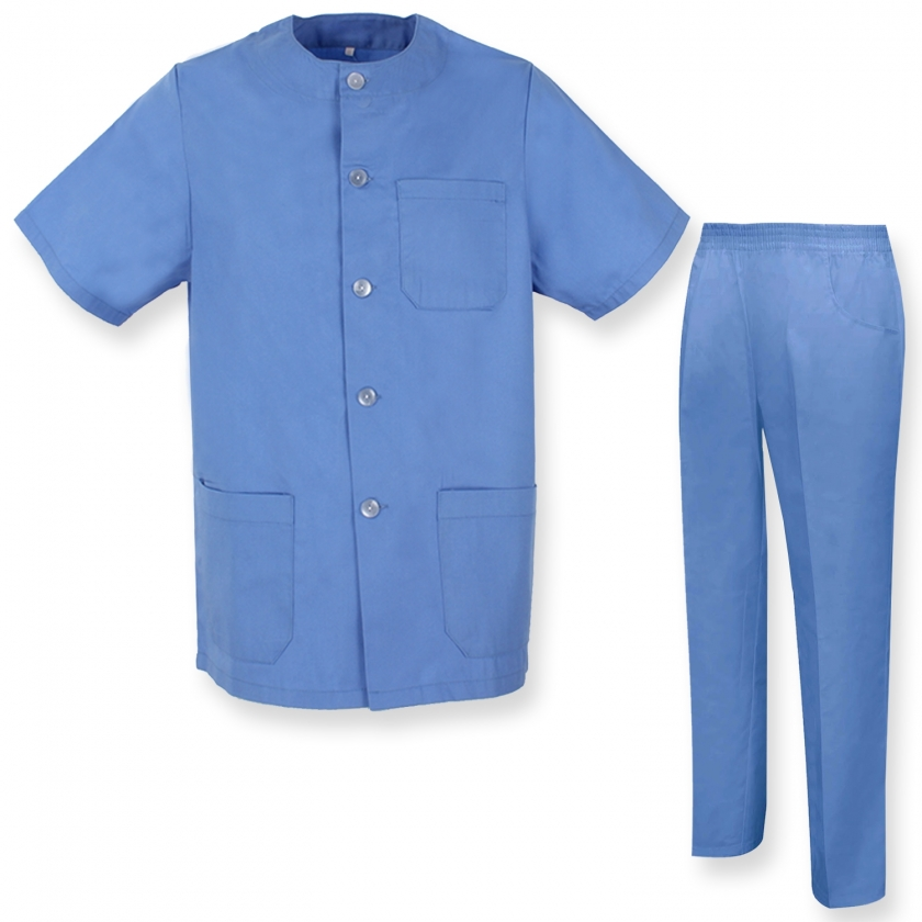 UNIFORMS Unisex Scrub Set – Medical Uniform with Top and Pants - Ref.8328