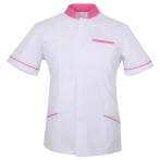 WORK CLOTHES LADY SHORT SLEEVES UNIFORM CLINIC HOSPITAL CLEANING VETERINARY SANITATION HOSTELRY - Ref.701