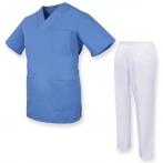 Ensemble Uniformes Unisexe Blouse - Uniforme Médical avec Haut et Pantalon  - Ref.81782 MZ-81782 MISEMIYA Sanidad,Estética y ...