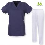 Uniforms Unisex Scrub Set – Medical Uniform with Scrub Top and Pants - Ref.70782