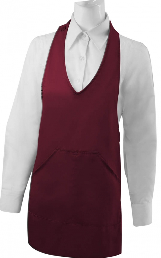 APRON CLEANING WITH POCKET 60mm*65mm WORK UNIFORM CLINIC HOSPITAL CLEANING VETERINARY SANITATION HOSTELRY - Ref.8604
