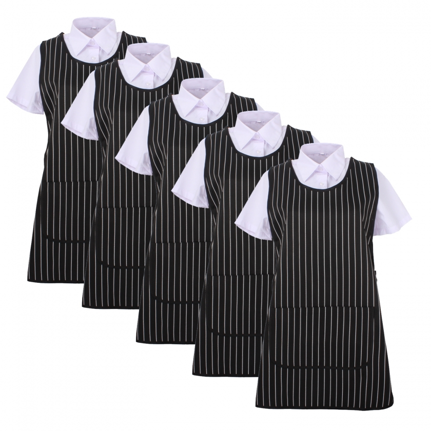 Set of 5 Pcs -  APRON CLEANING WORK UNIFORM CLINIC HOSPITAL CLEANING VETERINARY SANITATION HOSTELRY - Ref.868