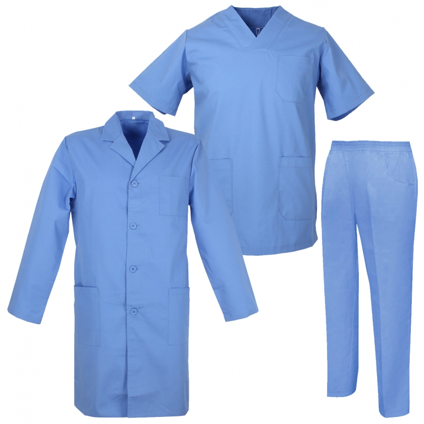 Uniforms Unisex Scrub Set – Medical Uniform with Scrub Top and Pants  - Ref.817-8312-816