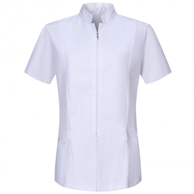 Camisa de Trabajo Mujer CIERRE CREMALLERA MANGA CORTA - Ref.829
