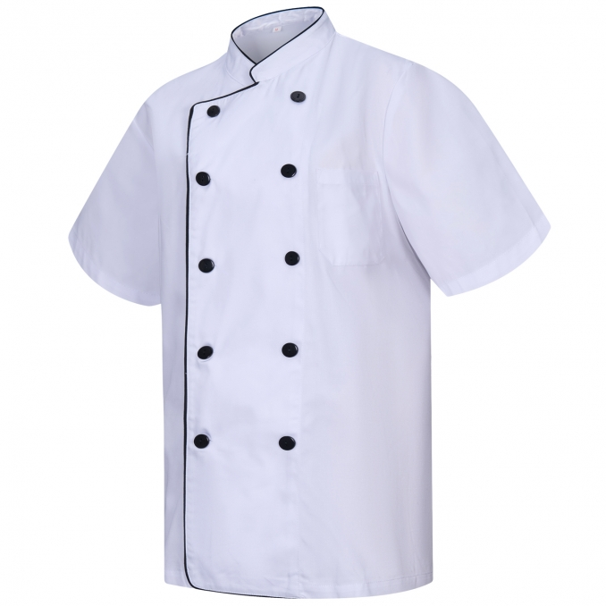 CHEF JACKET WITH REFORMED BUTTON - Ref.8421B
