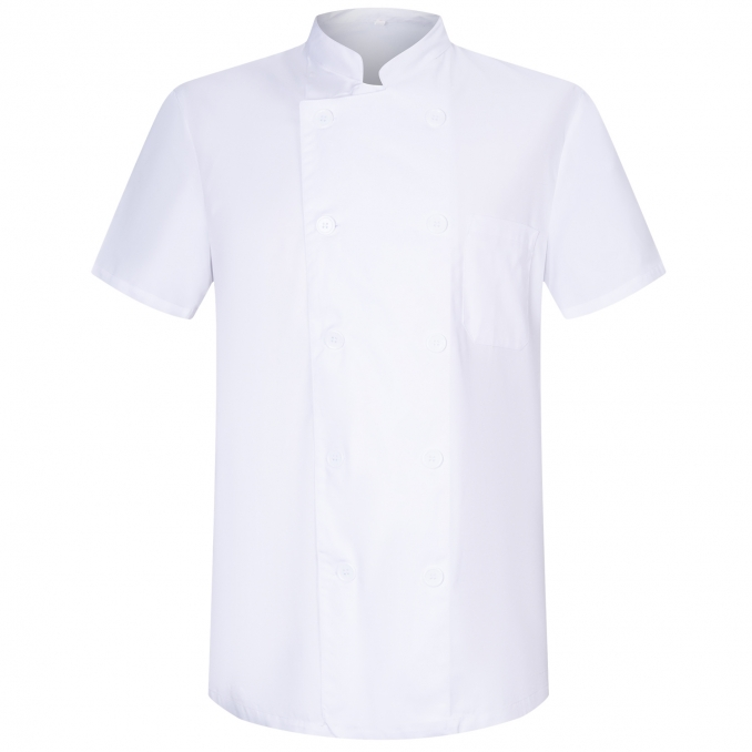 CHEF JACKETS GENTLEMAN WITH SHORT SLEEVES - Ref.8421