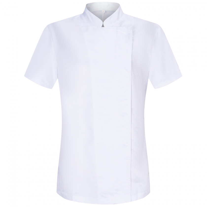 CHEF'JACKETS WOMAN SHORT SLEEVES (ANTI WATER - ANTI GREASE) - Ref.705