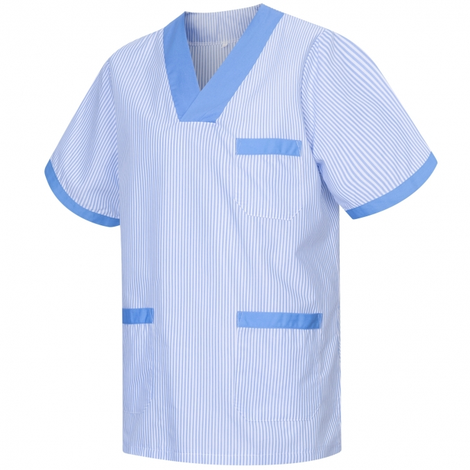 Medical Uniforms Scrub Top CLEANING VETERINARY SANITATION HOSTELRY - Ref: T817