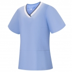WORK ELASTIC CLOTHES LADY SHORT SLEEVES UNIFORM CLINIC HOSPITAL CLEANING VETERINARY SANITATION HOSTELRY - Ref.709